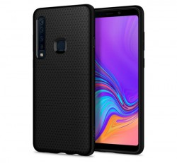 Spigen Liquid Air Samsung Galaxy A9 (2018) Matte Black tok, fekete