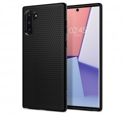 Spigen SGP Liquid Air Samsung Galaxy Note 10 Matte Black hátlap tok
