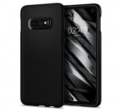Spigen Liquid Air Samsung Galaxy S10e Matte Black tok, fekete