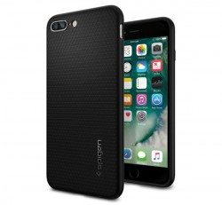 Spigen SGP Liquid Air Armor Apple iPhone 8 Plus/7 Plus Black hátlap tok