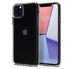 Spigen Liquid Crystal Apple iPhone 11 Pro Max Crystal Clear tok, átlátszó