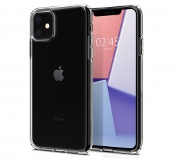 Spigen Liquid Crystal Apple iPhone 11 Crystal Clear tok, átlátszó