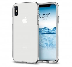 Spigen Liquid Crystal Apple iPhone Xs Crystal Clear tok, átlátszó