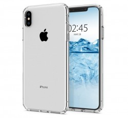 Spigen Liquid Crystal Apple iPhone Xs Max Crystal Clear tok, átlátszó