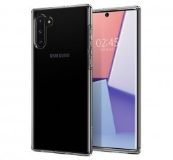 Spigen SGP Liquid Crystal Samsung Galaxy Note 10 Crystal Clear hátlap tok
