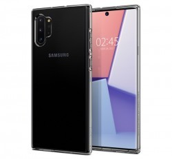 Spigen SGP Liquid Crystal Samsung Galaxy Note 10+ Crystal Clear hátlap tok
