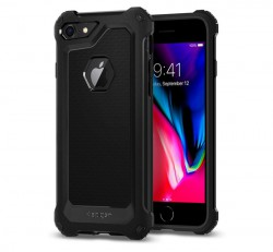 Spigen Rugged Armor Extra Apple iPhone 8/7 Black tok, fekete