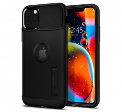 Spigen Slim Armor Apple iPhone 11 Pro Black tok, fekete