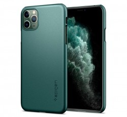 Spigen SGP Thin Fit Apple iPhone 11 Pro Midnight Green hátlap tok