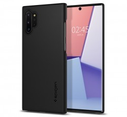 Spigen Thin Fit Samsung N975 Galaxy Note 10+ Black tok, fekete