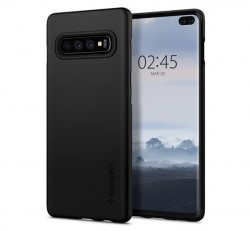 Spigen Thin Fit Samsung G975 Galaxy S10+ Black tok, fekete