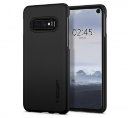 Spigen Thin Fit Samsung Galaxy S10e Black tok, fekete
