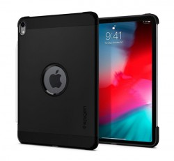 "Spigen Tough Armor Apple iPad Pro 11"" (2018) Black tok, fekete"
