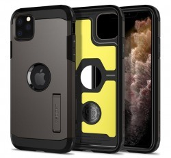 Spigen SGP Tough Armor Apple iPhone 11 Pro Gunmetal hátlap tok