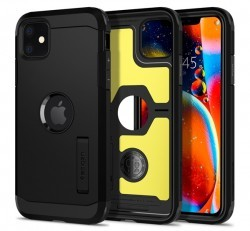 Spigen Tough Armor Apple iPhone 11 Black tok, fekete