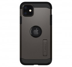 Spigen Tough Armor Apple iPhone 11 Gunmetal tok, szürke