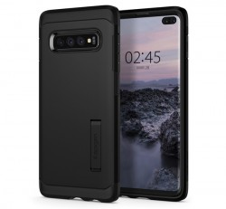 Spigen Tough Armor Samsung Galaxy S10+ Black tok, fekete