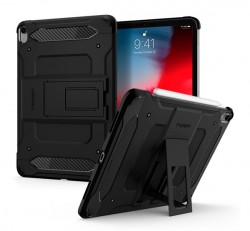 "Spigen Tough Armor Tech Apple iPad Pro 11"" (2018) Black tok, fekete"