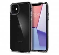 Spigen Ultra Hybrid Apple iPhone 11 Crystal Clear tok, átlátszó