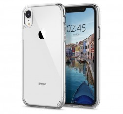 Spigen Ultra Hybrid Apple iPhone XR Crystal Clear tok, átlátszó