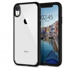 Spigen Ultra Hybrid Apple iPhone XR Matte Black  tok,