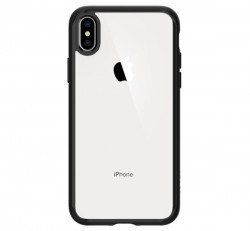 Spigen Ultra Hybrid Apple iPhone Xs Max Matte Black tok, fekete