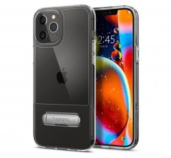 Spigen Slim Armor Essential Apple iPhone 12 Pro Max Crystal Clear tok, átlátszó