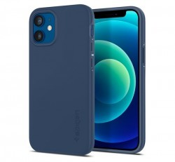 Spigen Thin Fit  Apple iPhone 12 mini Navy Blue tok, kék