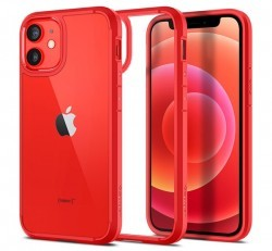 Spigen Ultra Hybrid Apple iPhone 12 mini Red tok, piros
