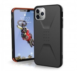 UAG Civilian Apple iPhone 11 Pro Max hátlap tok, Fekete