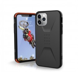 UAG Civilian Apple iPhone 11 Pro hátlap tok, Fekete
