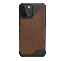 UAG Metropolis LT Apple iPhone 12 Pro Max hátlap tok, Leather Brown