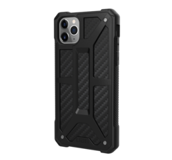 UAG Monarch Apple iPhone 11 Pro Max hátlap tok, Carbon Fiber