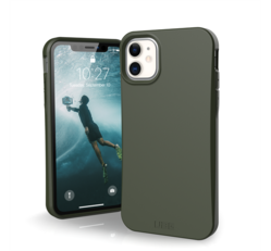 UAG Outback Bio Apple iPhone 11 hátlap tok, Oliva