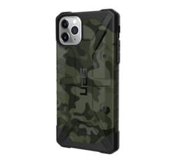 UAG Pathfinder Apple iPhone 11 Pro Max hátlap tok, Forest Camo