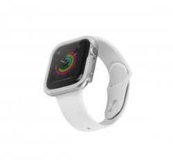 Uniq Valencia Apple Watch 40mm aluminium tok, ezüst
