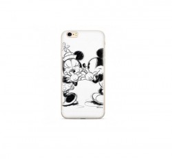 WB hátlapvédő tok Apple iPhone 6/7/8 Mickey és Minnie, fehér