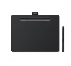 Wacom Intuos S Bluetooth Black North, bluetooth digitalizáló tábla, fekete /CTL-4100WLK-N/