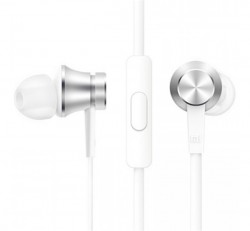 Xiaomi Mi In-Ear Basic sztereó headset, 3,5mm, ezüst