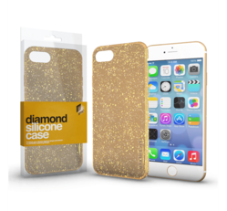 Xprotector Diamond szilikon hátlap tok, Apple iPhone 5/5S/SE, arany