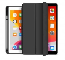 "Xprotector Smart Book Pencil tartóval flip tok Apple iPad Pro 11"" (2018), fekete"