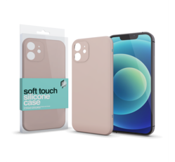 Xprotector Soft Touch Slim szilikon tok Apple iPhone XR, púderpink