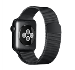 Xprotector milánói szíj Apple Watch 38/40mm fekete