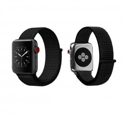 Xprotector tépőzáras szíj Apple Watch 42/44mm, fekete