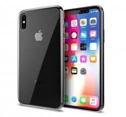 iLuv Metal Care Apple iPhone X/XS hátlaptok, fekete